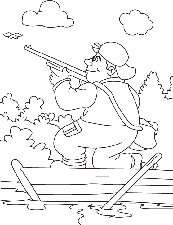 558x724 Stunning Hunting Coloring Pages 62 With Additional Coloring