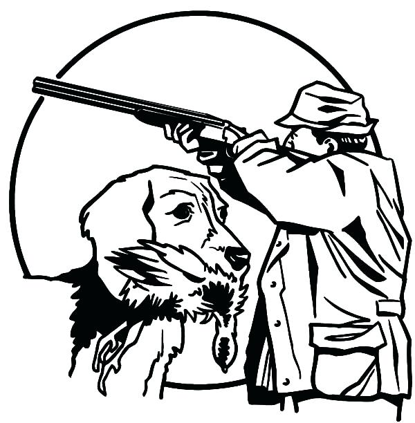 600x612 Best Of Hunting Coloring Pages Images A Hunter Hunting In The Boat