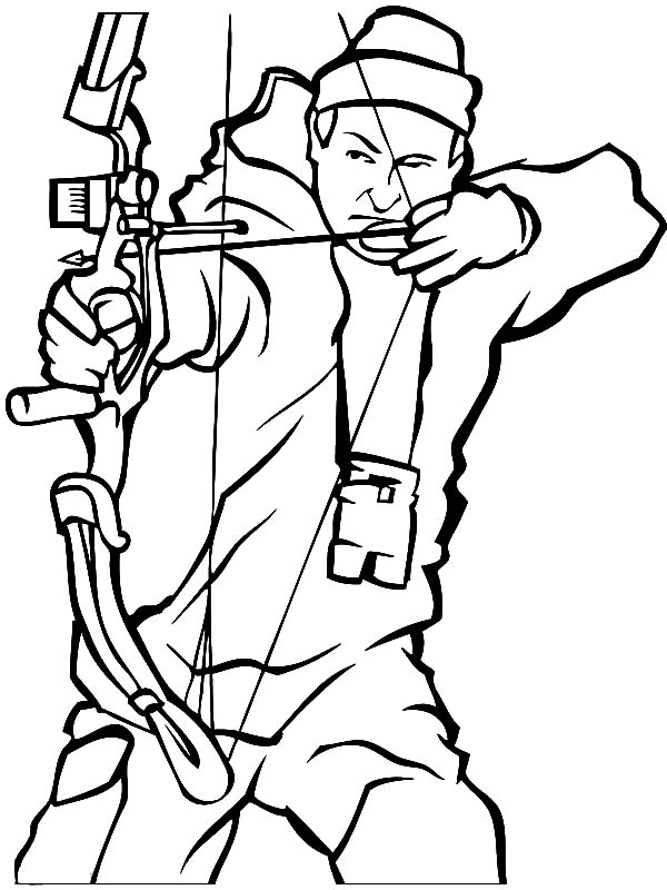 600x800 Hunting Rifle Coloring Pages