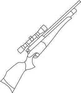 261x300 Ak 47 Gun Drawing, Here Weapons Colouring Pages