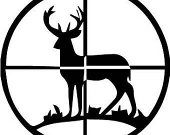 340x270 Rifle Svg Hunt Etsy