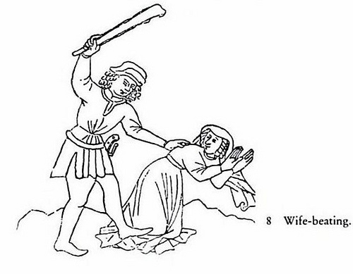 500x389 Image Of A Husband Beating His Wife