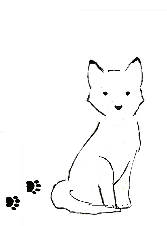 581x785 A Quick Husky Dog Outline Tattoo Possibly To Go On My Other Ankle