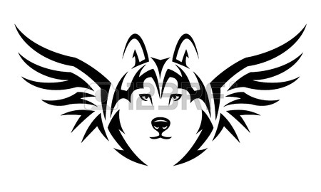 450x270 Husky Tattoo Stock Photos. Royalty Free Business Images