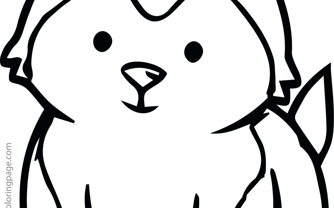 1280x800 Siberian Husky Coloring Page Free Printable Pages Animals Book