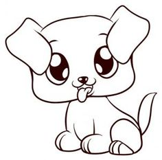 236x233 Dogs To Draw How To Draw A Puppy Face Step 9
