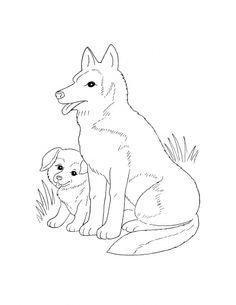 236x305 Dog Color Pages Printable Husky Coloring Sheets Dog Pic