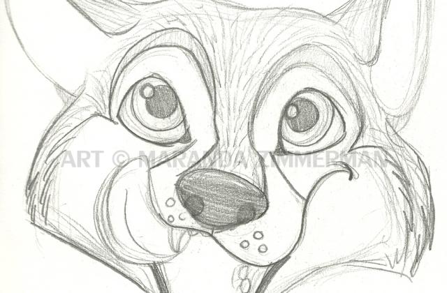 640x420 Tag For Cute Cartoon Husky Drawing Cartoon Husky To Draw Drawing