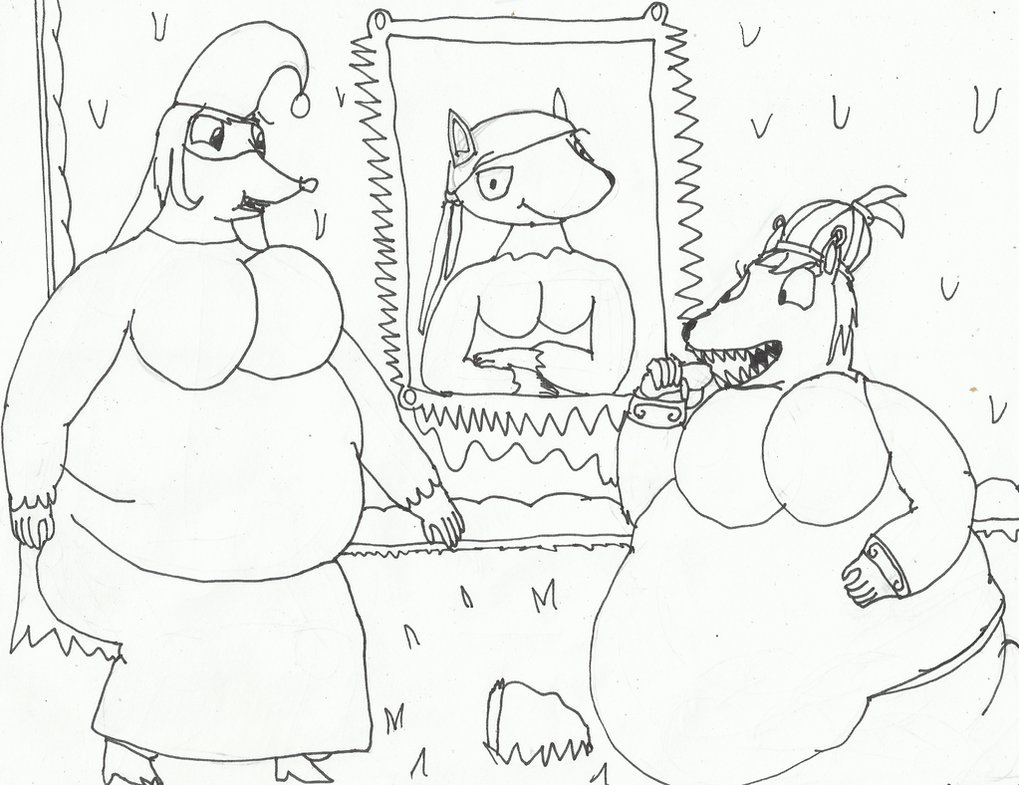 1019x785 Baba Yaga's Hut (Drawing Practice) By Wojti2000