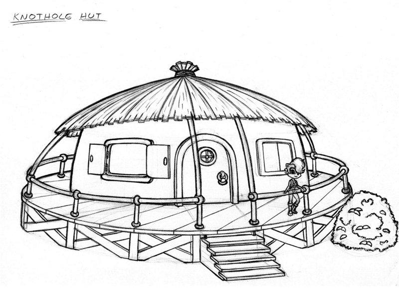 800x577 Knothole Hut By Scificat
