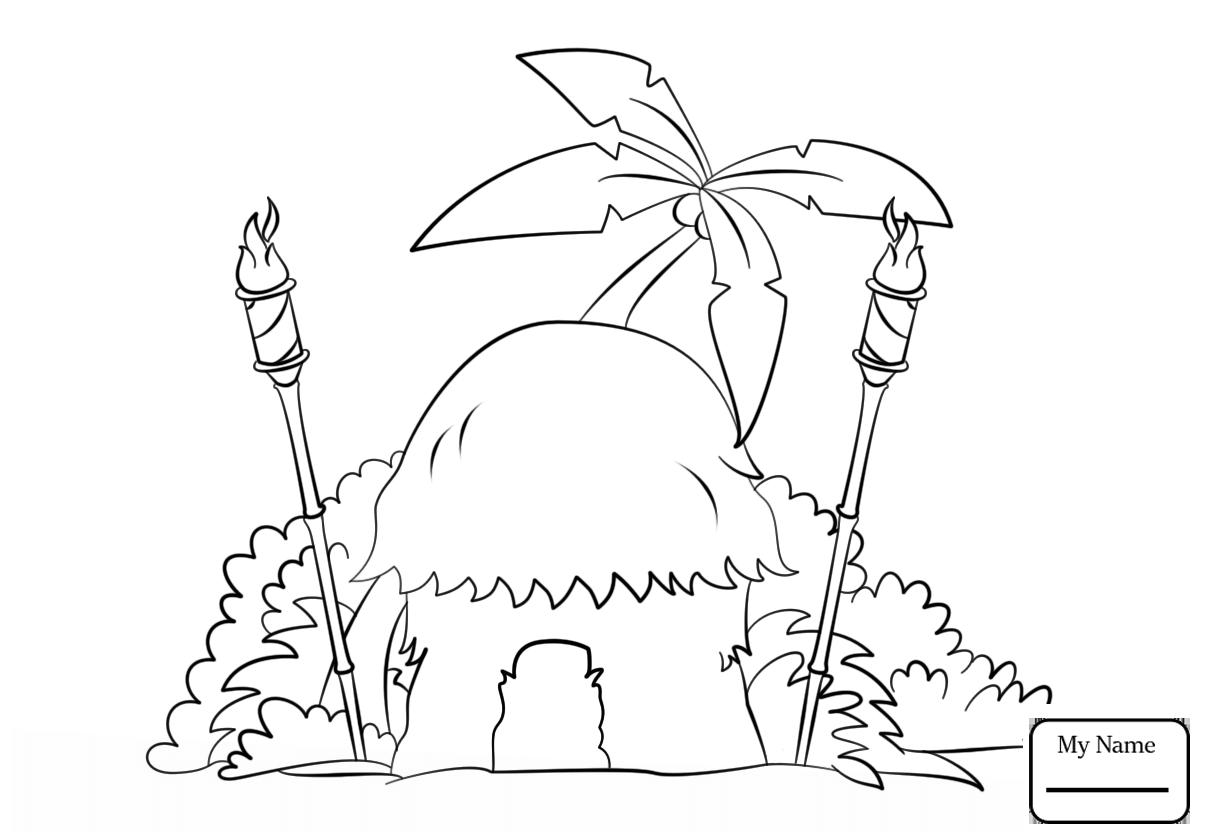 Hut Drawing at GetDrawings