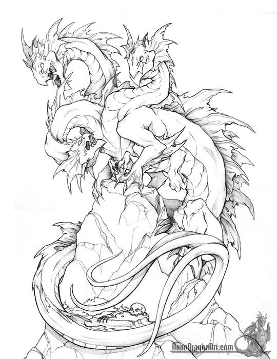 540x700 Dragons Neon Dragon Art Work Dragons