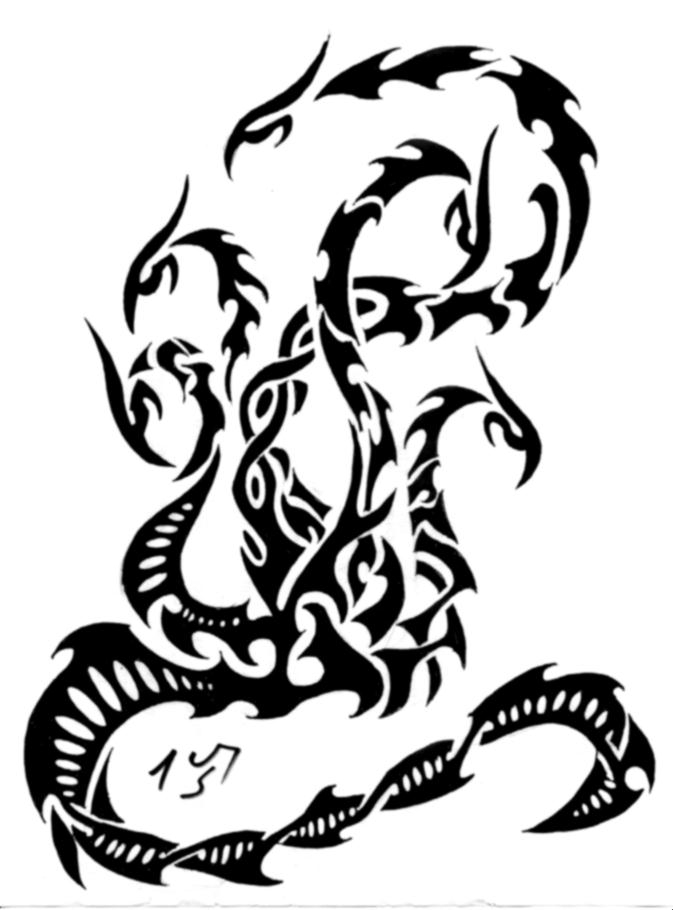 Hydra Dragon Drawing At Getdrawings Free For Personal Use