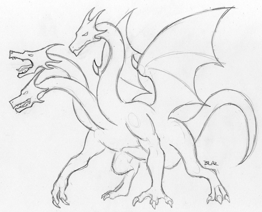 900x728 Hydra Super Sketch By Blazbaros