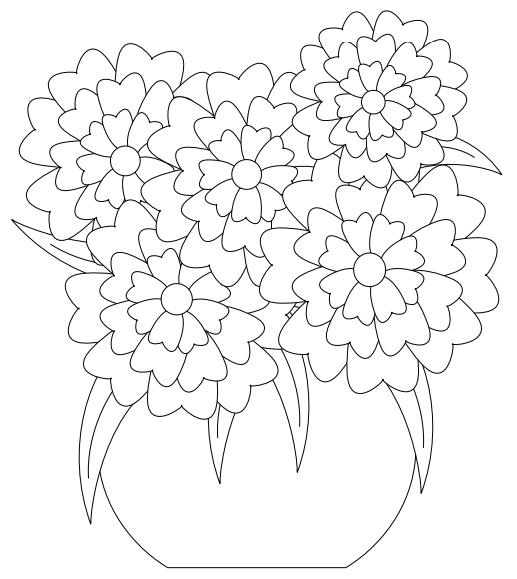 517x579 Flowers Crafts
