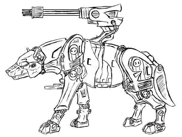 600x450 Hyena Zoid By Xailai