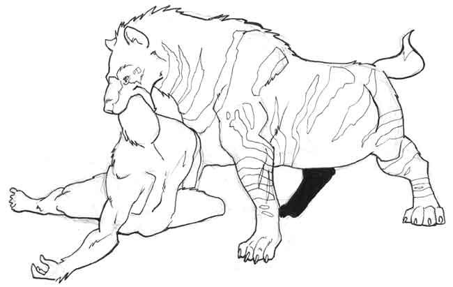650x411 Short Faced Hyena By Pachycrocuta