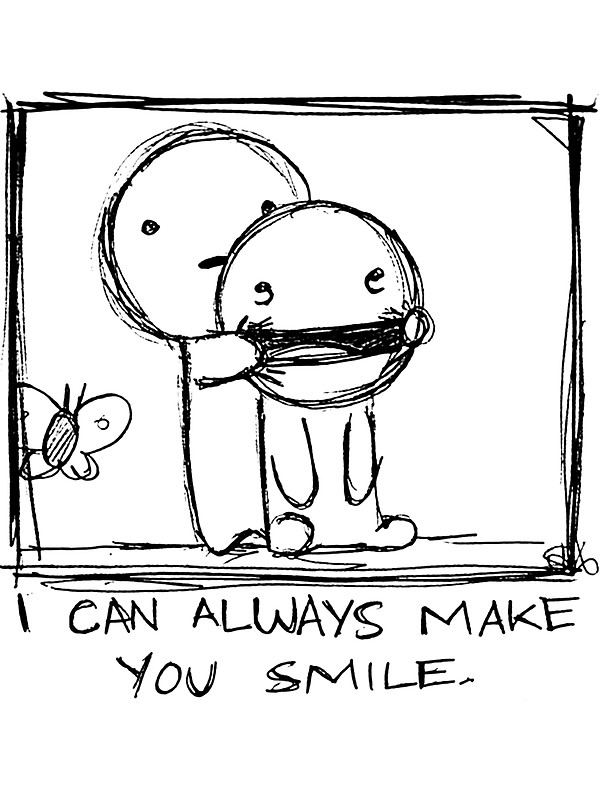 600x800 I Can Always Make You Smile. Stickers By Philip Dearest Redbubble