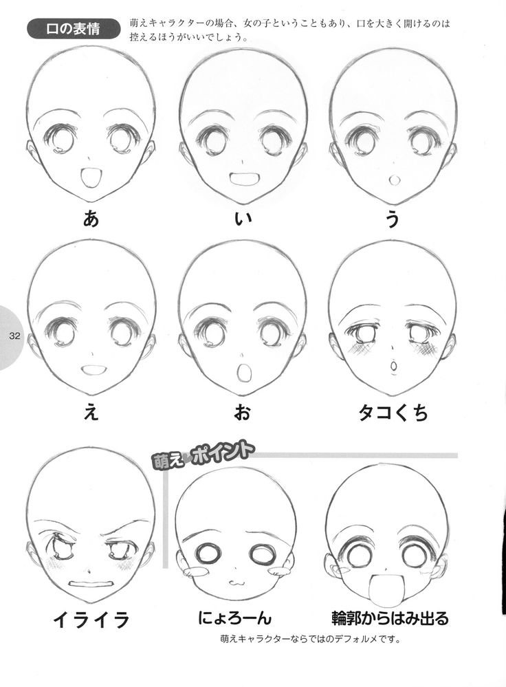 736x999 How To Draw Anime For Kids Step 5 Step By Step