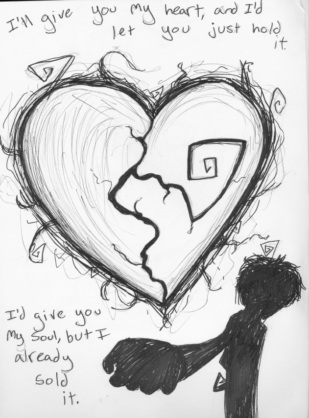 631x854 Id Give You My Heart By Fangsdrawings