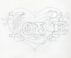 250x204 Learn To Draw A Heart. Very Inspiring.