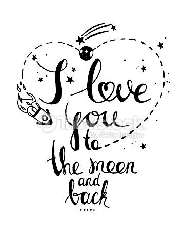 359x479 Drawn Love I Love You
