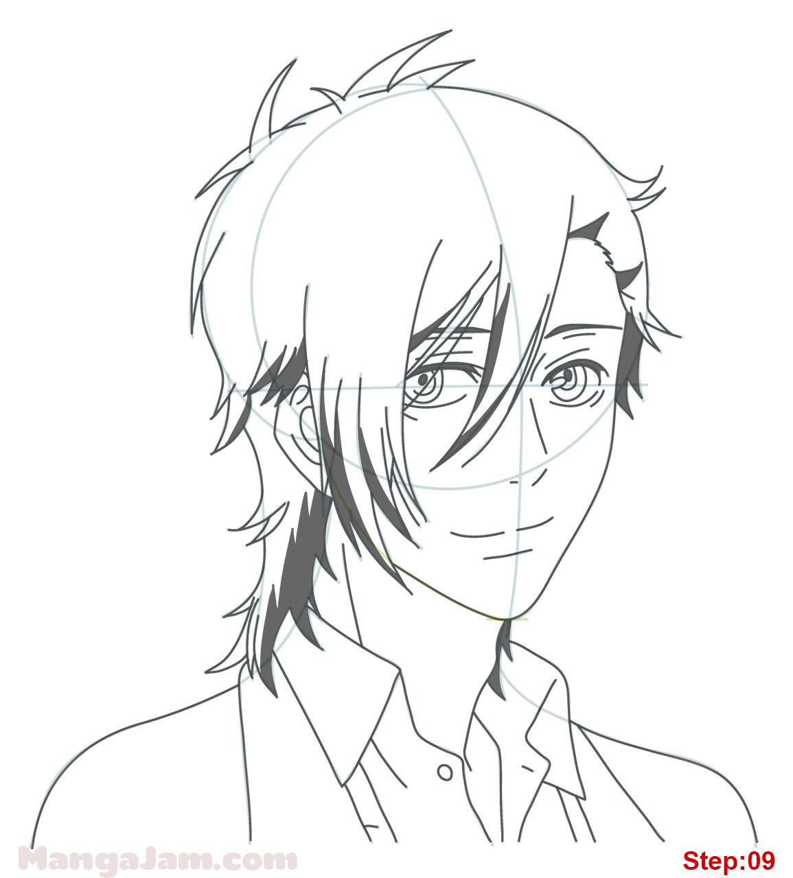 1155x1280 How To Draw Yamato Kurosawa From Say I Love You