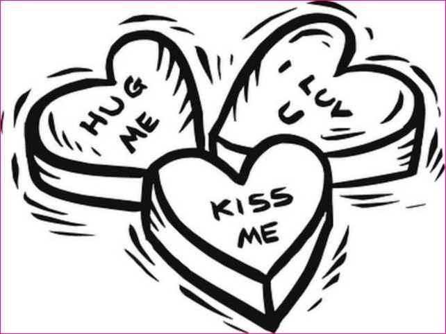 Line Art Love Heart : Love letter clipart