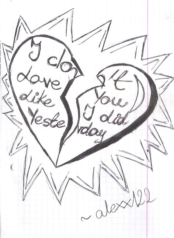 583x796 I Don'T Love You Like I Did Yesterday