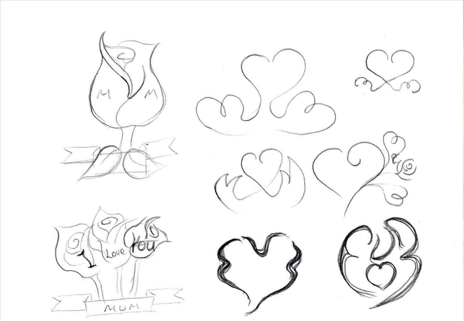1501x1038 I Love You Drawings In Pencil With Heart