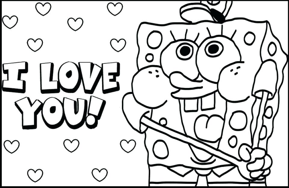 960x626 Love You Coloring Pages