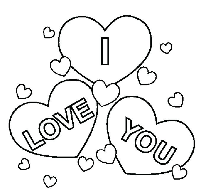 679x650 I Love You Mom Coloring Pages Love You Always Mom Greeting Card