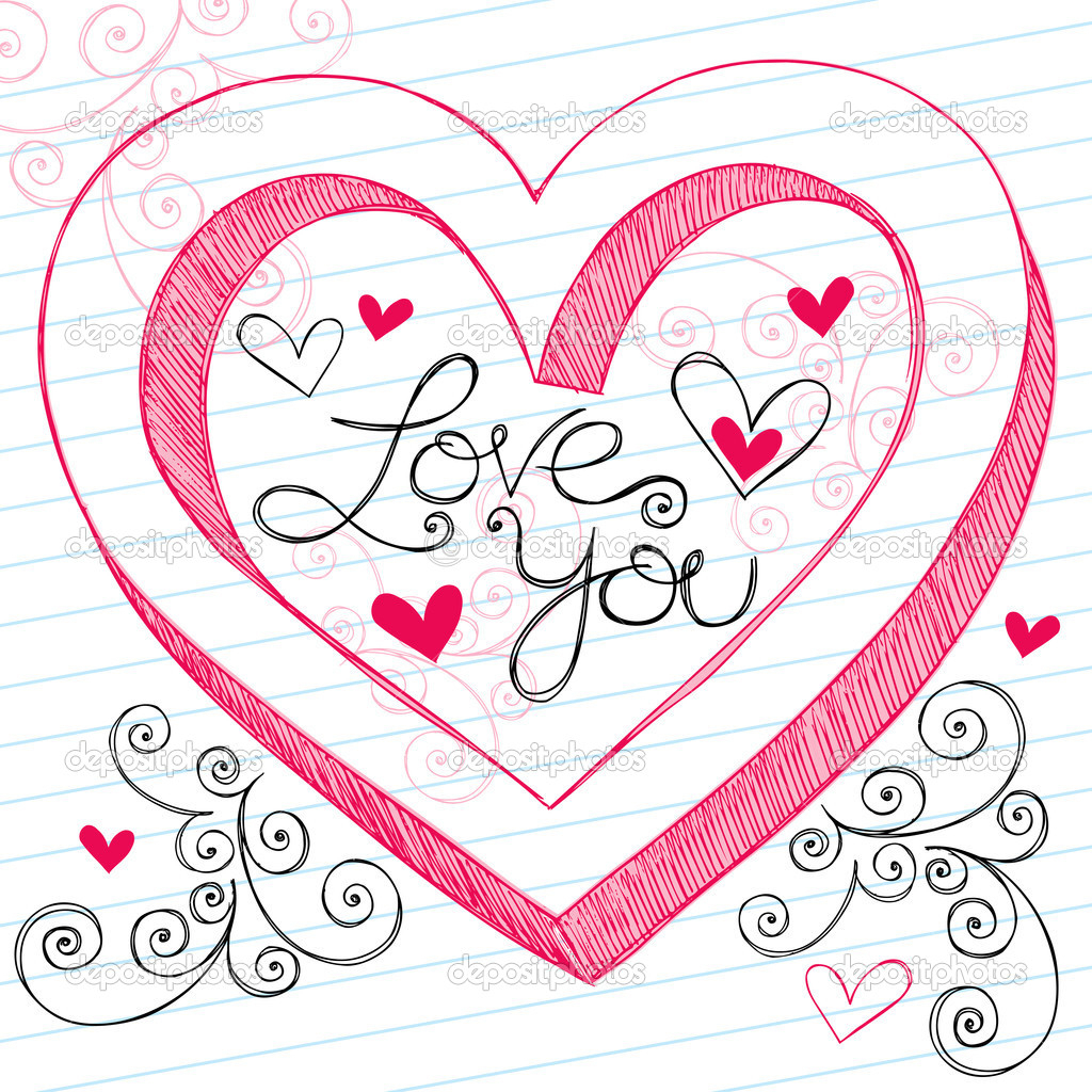 I Love You Drawing For Her at GetDrawings.com | Free for personal ...