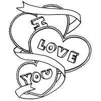 coloring pages that say i love you. 200x200 Coloring Pages That Say I Love You Drawing For Her at GetDrawings com  Free for personal