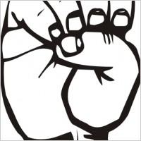 200x200 I Love You Sign Language Clipart Clipart Panda