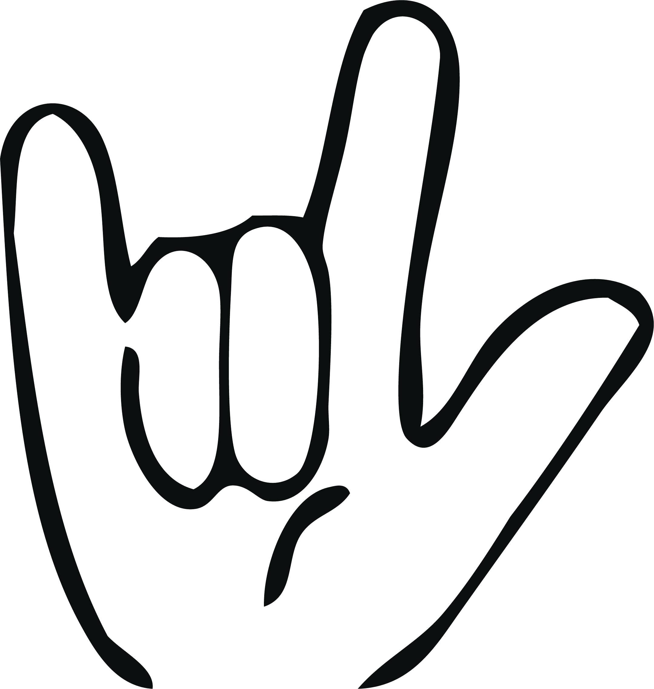 2161x2276 Printable Printable Asl Signs I Love You Sign Language Wall Art