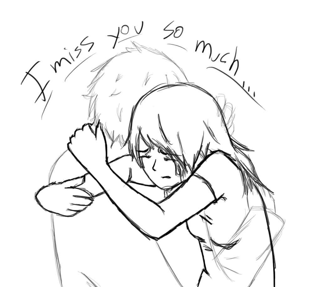 1000x918 I Miss You So Much By Kuemomoshousa