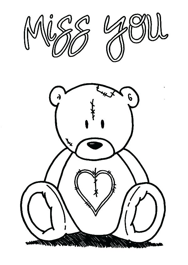 600x844 Thinking Of You Coloring Pages Awesome I Miss You Coloring Pages