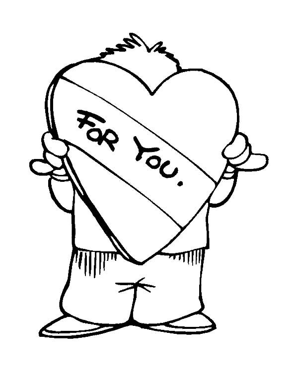 600x777 Boy Covering His Face With Love I Miss You Coloring Pages Batch