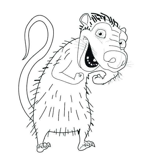 600x685 Animals Of The Ice Age Drawing Coloring Pages Batch
