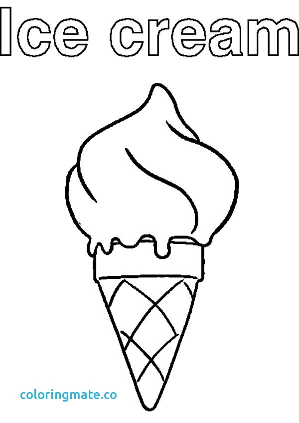 600x848 Ice Cream Coloring Page Fresh Affordable Ice Cream Cone Coloring