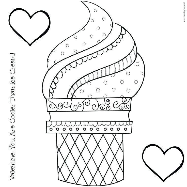 736x736 Ice Cream Cone Coloring Page Best Ice Cream Coloring Pages Ideas