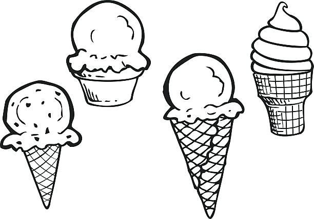 612x428 Ice Cream Clipart Ice Cream Cup Ice Cream Scoop Clipart Black