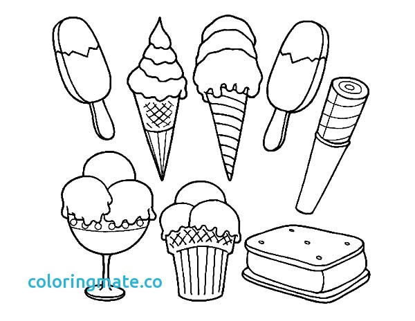 600x464 Ice Cream Coloring Page Beautiful Free Coloring Pages Of Drawing