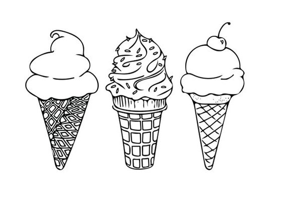 564x435 Related Image Ice Cream Doodles Doodles, Bullet