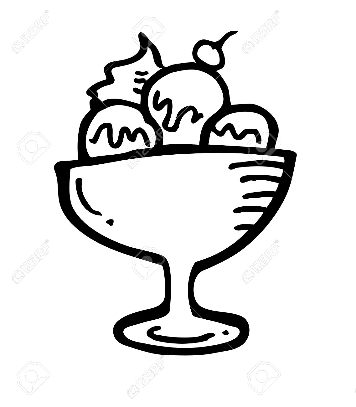 1137x1300 Ice Cream Clipart Sketch
