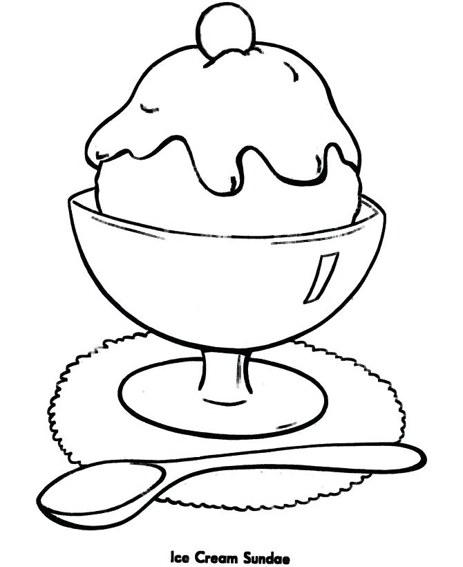 670x820 Ice Cream Coloring Pages Free As Well As Coloring Pages Free