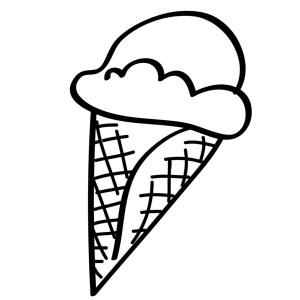 300x300 Kids Ice Cream Drawing