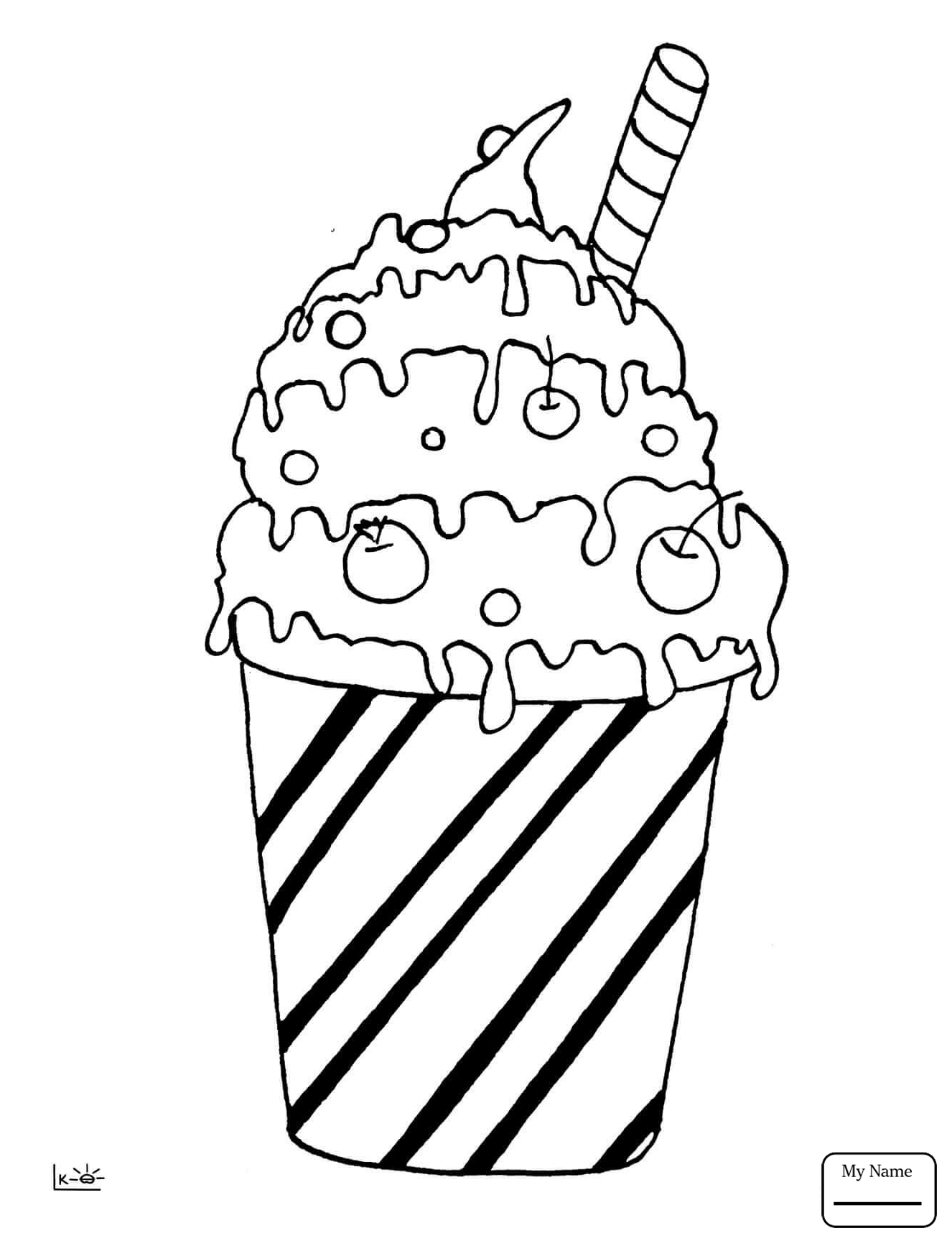 1326x1734 Coloring Pages For Kids Love Ice Cream Home Housework