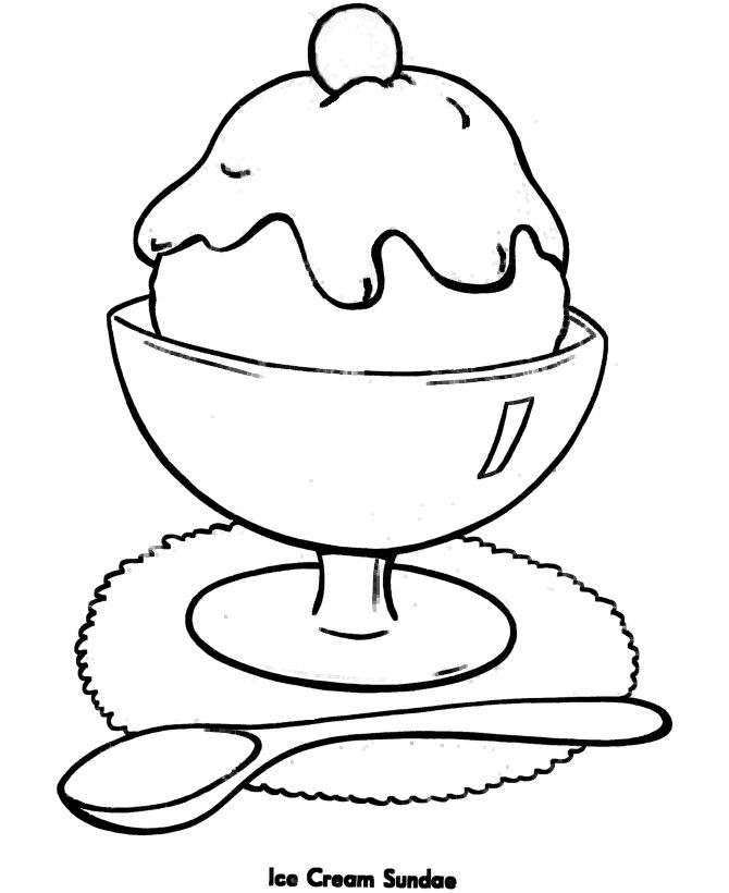 Ice Cream Drawing Pictures At Getdrawingscom Free For Personal